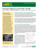 Cover of AGI Factsheet 2018-002-Geologic Mapping and Public Health