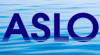 ASLO logo superimposed over water