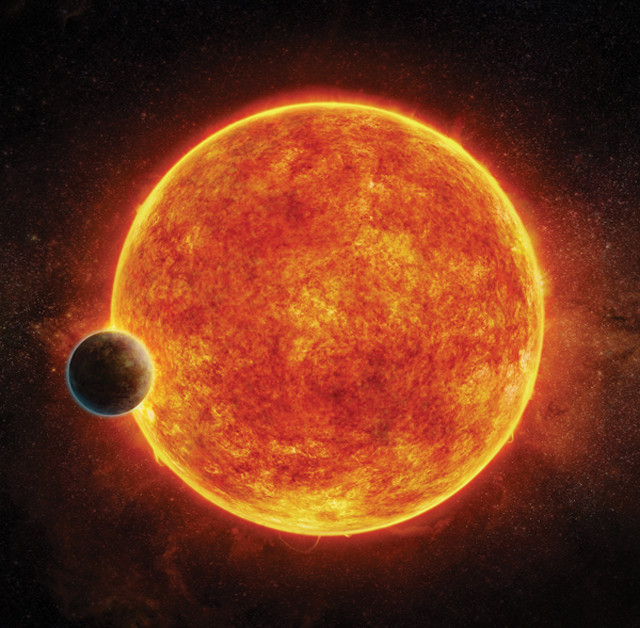 Terrestrial exoplanet shows signs of life support